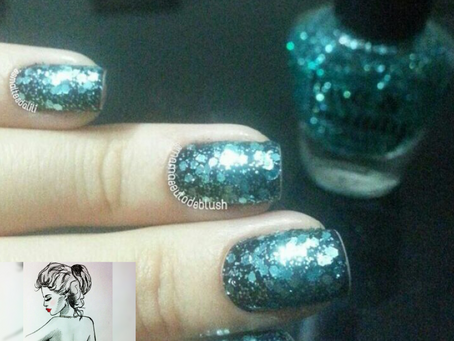 Turquoise, Love & Beauty da Forever 21 por @Mamaeeutodeblush #ProjetoFavoritosBlogueiras