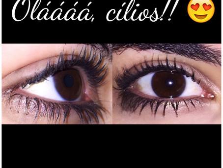 Olá, cílios!!