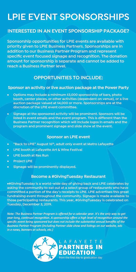 LPIE Business Partner Program 2019-20 In