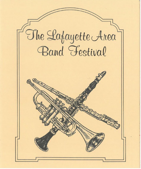 Old Band Festival Brochure