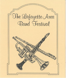Old Band Festival Brochure