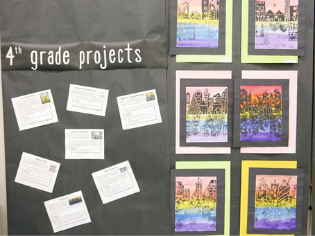 June 2016 Slice: Elementary Students Display Their Talent at LPIE Art Fairs