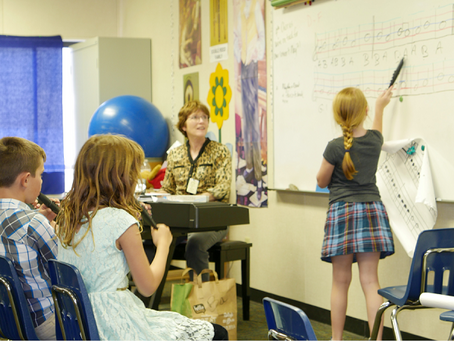 May 2016 Slice: Third Graders Take On Their First Musical Instrument