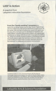 Lamorinda Weekly Article about LASF Computers