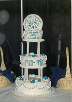 10th Anniversay Cake