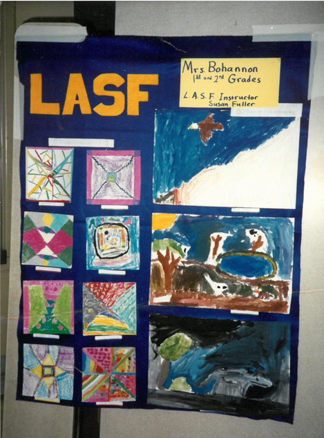 Mrs. Bohannon 1st & 2nd Grades, LASF Instructor Susan Fuller