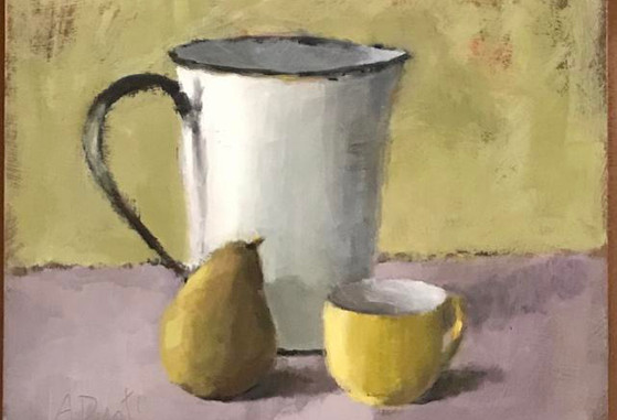 Still Life with Measuring Pitcher
