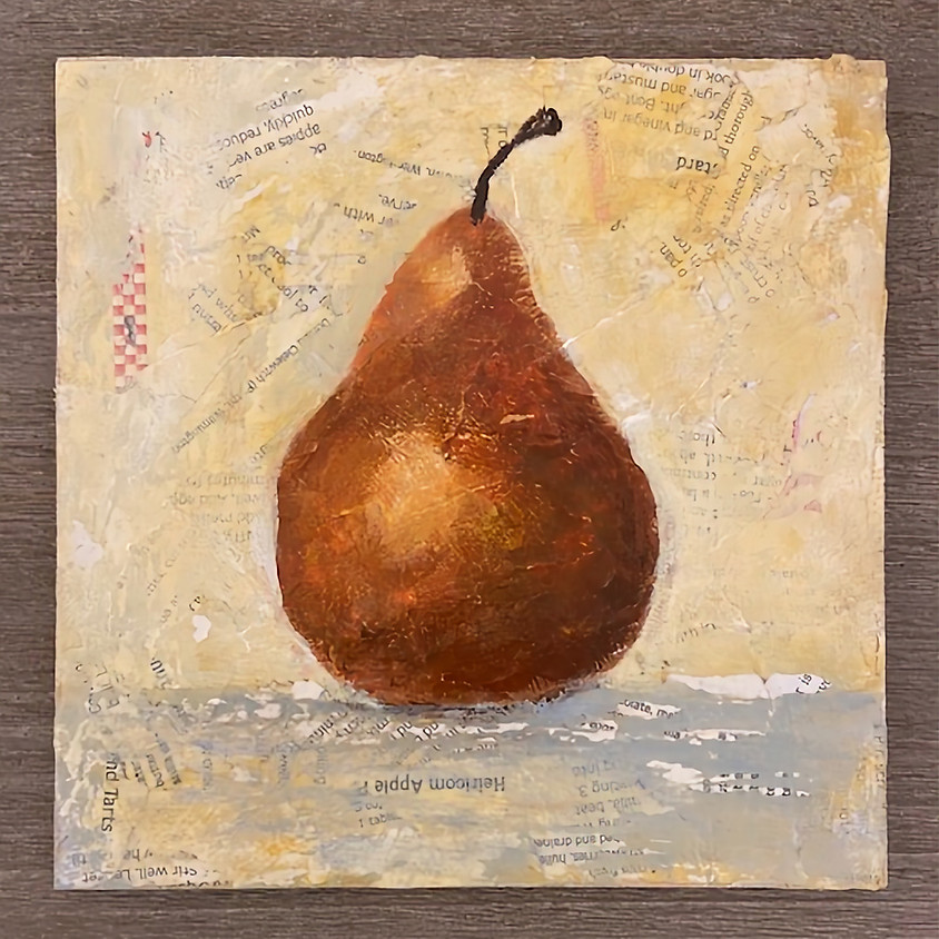 Pear Painting class