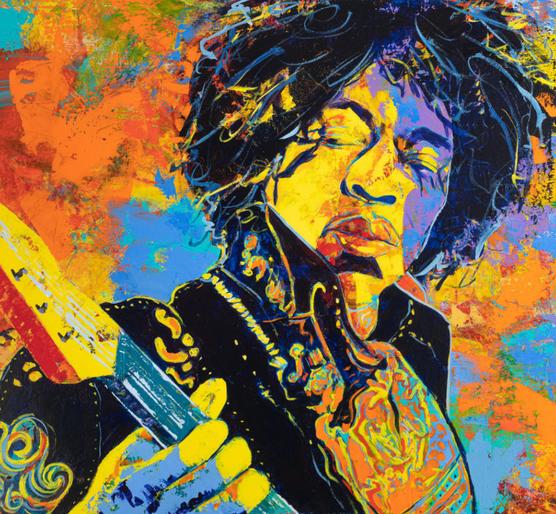 """More Purple Haze"" Jimi Hendrix"