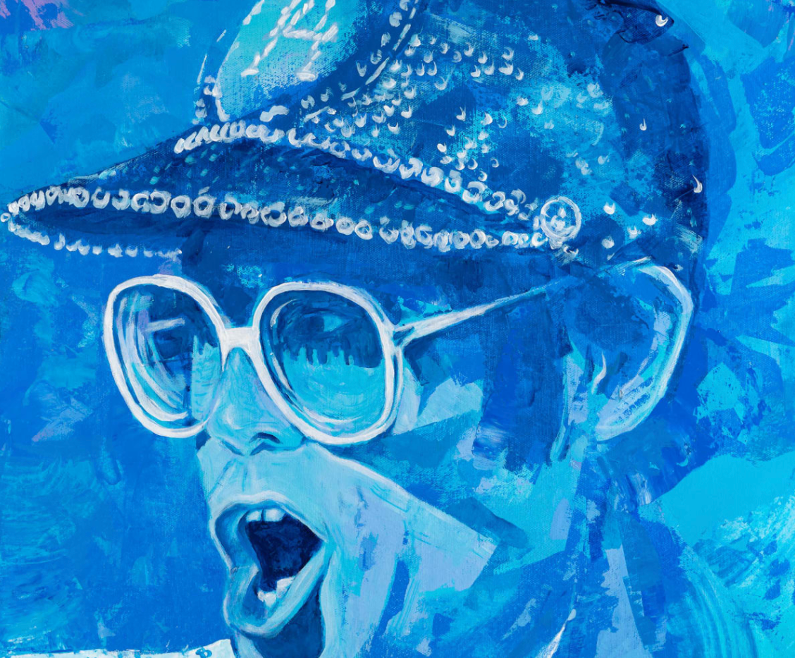 """""""That's Why They Call it the Blues"""" Elton John"""