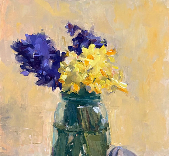 Hyacinths and Daffodils