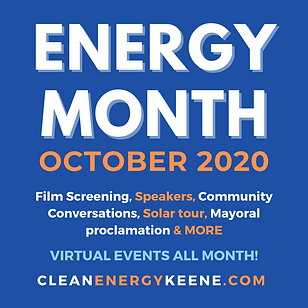 2020 Energy Awareness Month social image