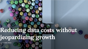 Reducing data costs without jeopardizing growth