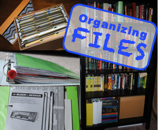 Filing bins and binders