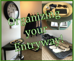 Organizing your entryway