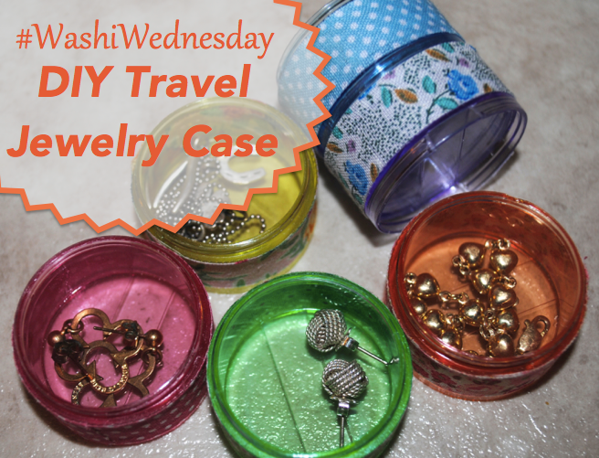 #WashiWednesday: DIY travel jewelry case
