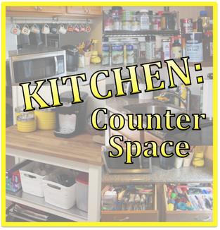 Kitchen: Using counter space effectively