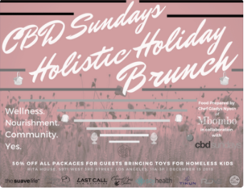 CBDSLA Holisitic Holiday Brunch