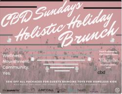 CBDSLA Holisitic Holiday Brunch
