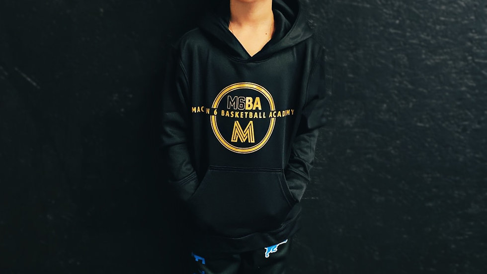 Youth Gold Logo Hoodie