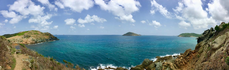 Saint Barth panoramic view