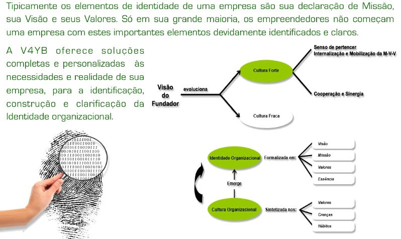 Identidade Organizacional - Elementos - V4RH - Consultoria em Recursos Humanos