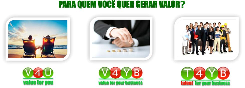 V4 Consulting - Divisões de Consultoria de Gestão