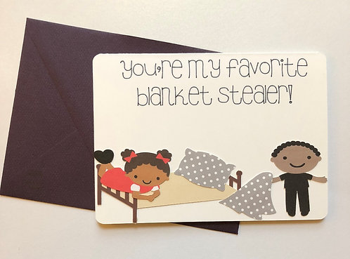 Blanket Stealer Card