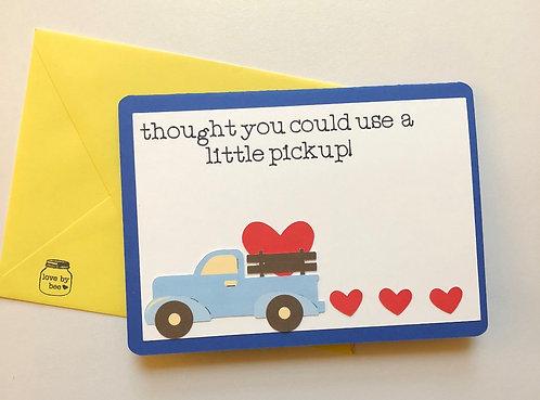 A little Pickup Card