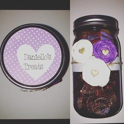 Candy Mason Jar Gift