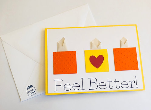 Get Well Tissue Card