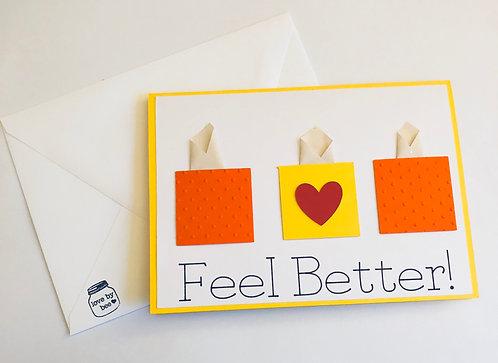 Get Well Tissue Card