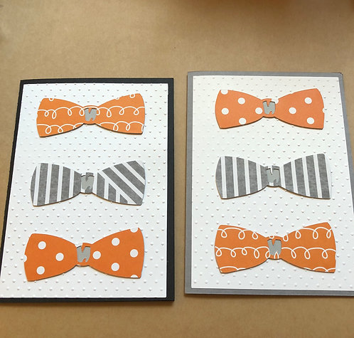 Bow Tie Just Any Occasion Card