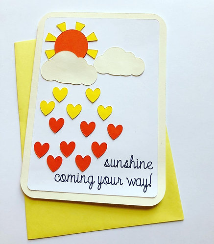 Sunshine Coming Your Way Card