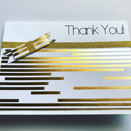 Sweet Bow Thank You Card