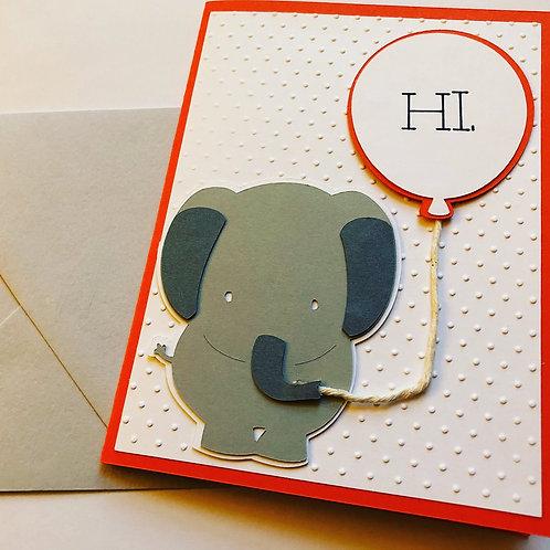 Elephant Hi Card