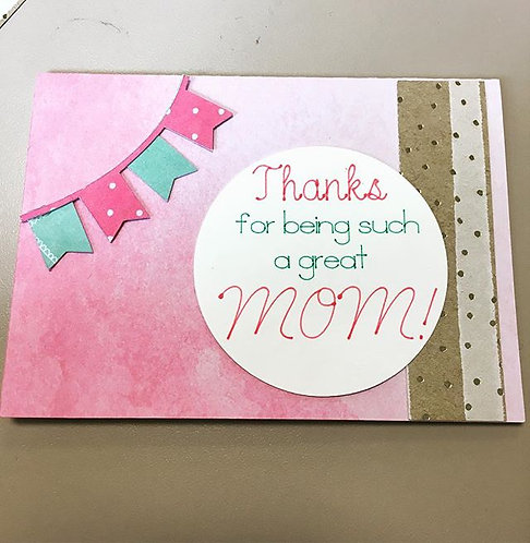 Mother's Day Flag Card