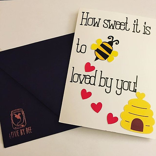 Bee Love Card