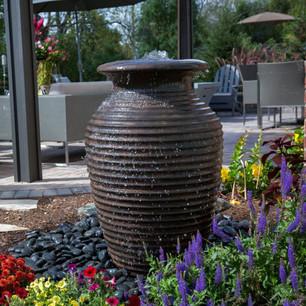 Rippled Urn Fountain Kit