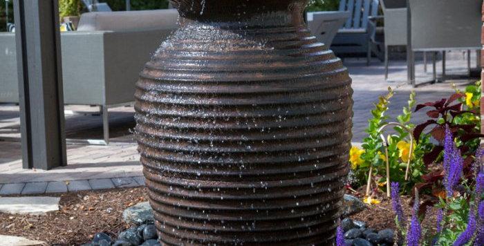 Rippled Urn Fountain