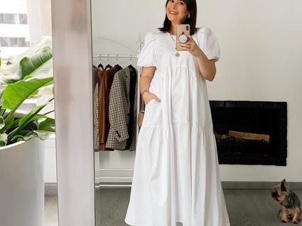 Maxi vestido con 'Extra Volumen' #TrendAlert