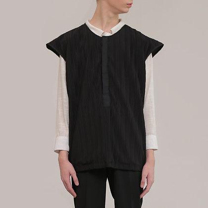 Black Pleated Top