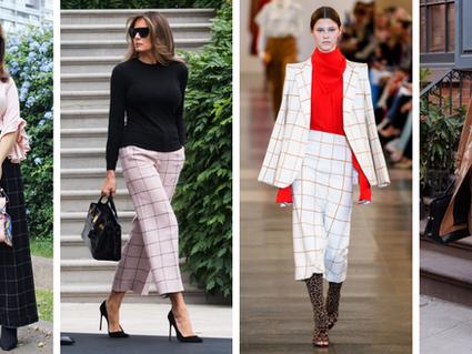Trend Alert: Pantalones de cuadros otoño-invierno 2019
