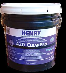 430 Clearpro VCT Floor Adhesive