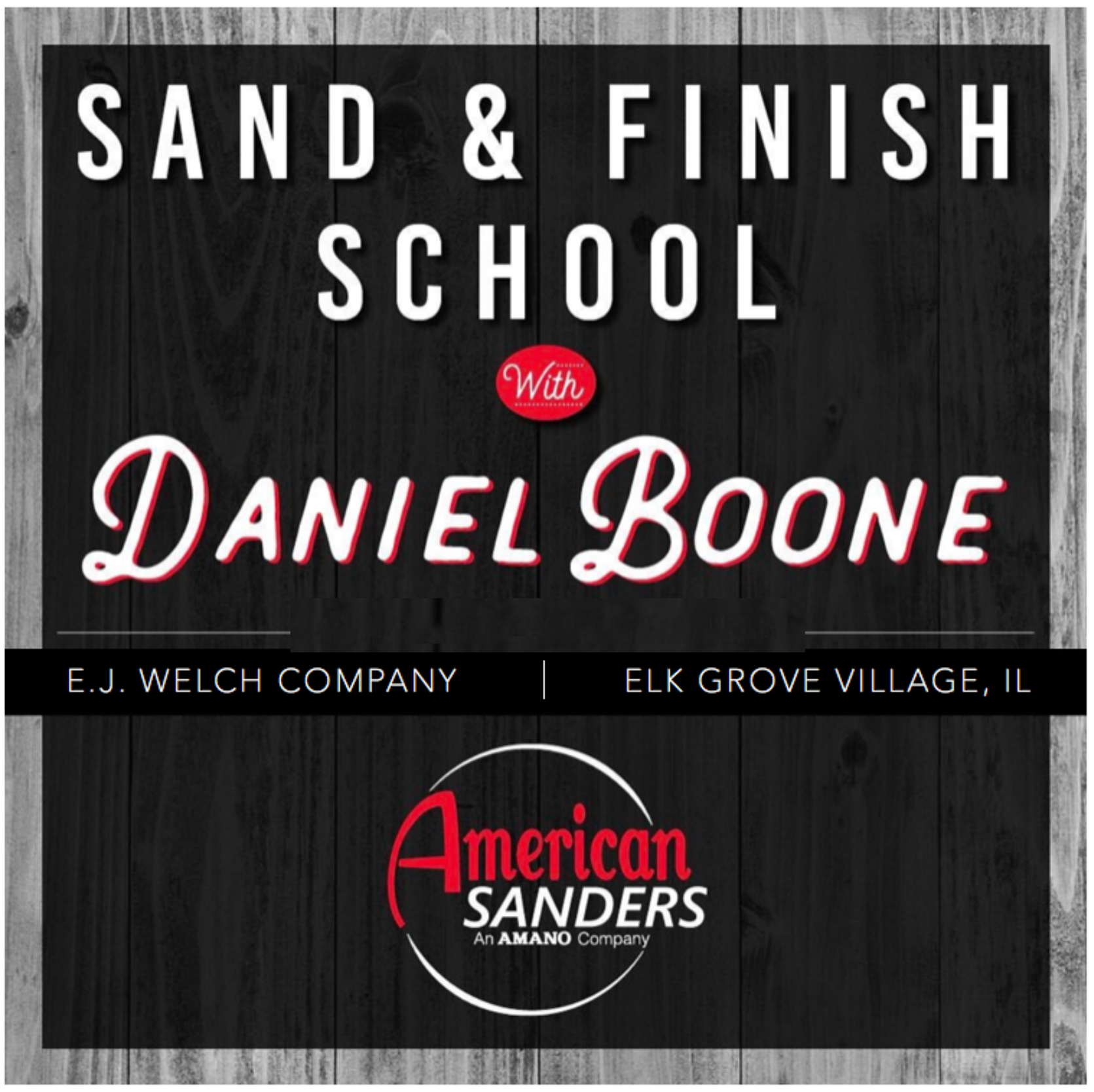 American Sanders   Sand U0026 Finish School