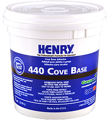 440 Cove Base Adhesive