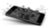 Mobile med Trasig skärm