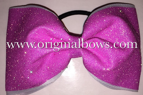 Glitter Sparkle Tailless PINK Cheer BOW