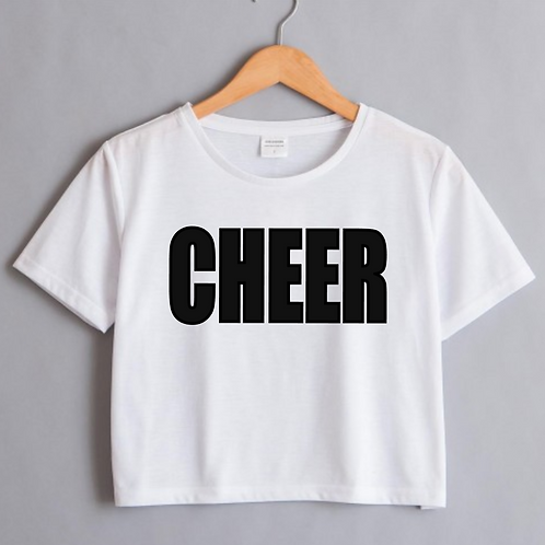 CHEER Cropped Top