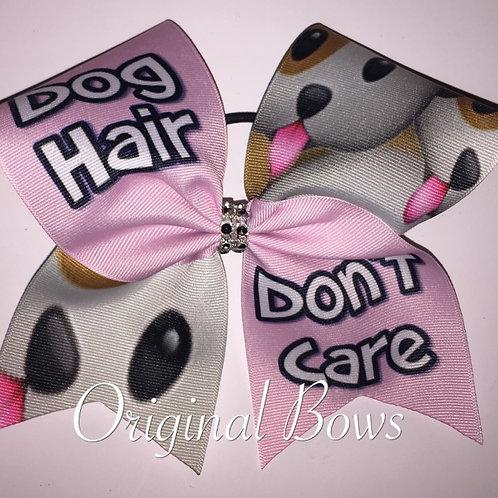 Dog Hair Don't Care Grosgrain Cheer Dance Bow